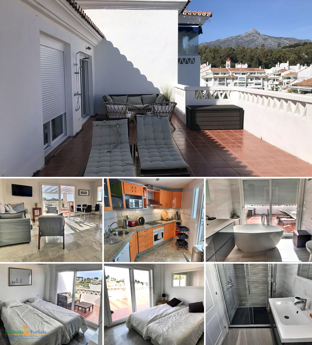 Price Reduced - 5 Bed Penthouse Nueva Andalucía