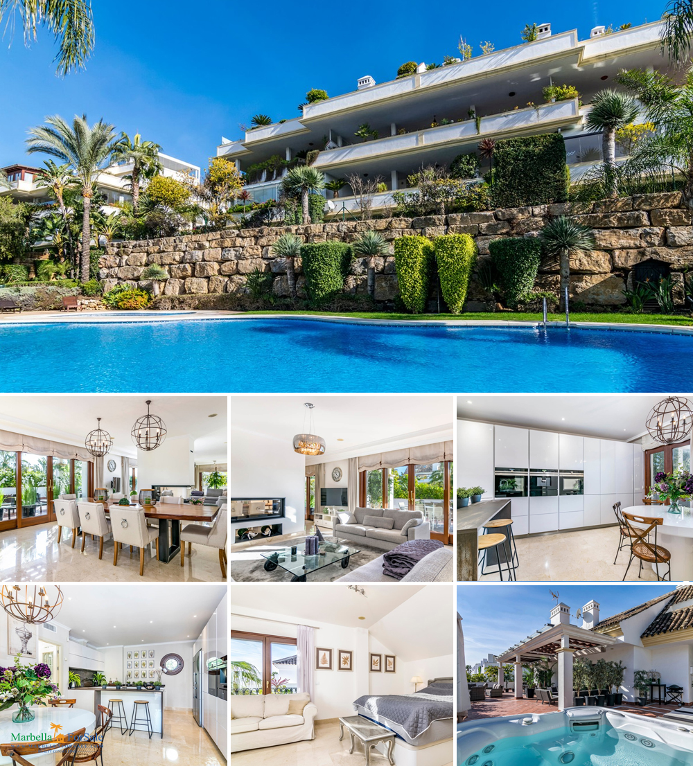 Luxury Penthouse For Sale - Marbella's Golden Mile