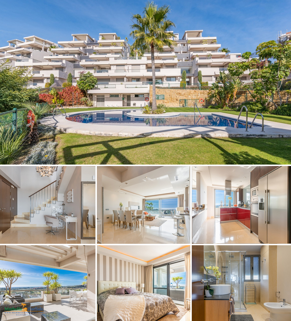 3 Bed Duplex Penthouse For Sale - Benahavís