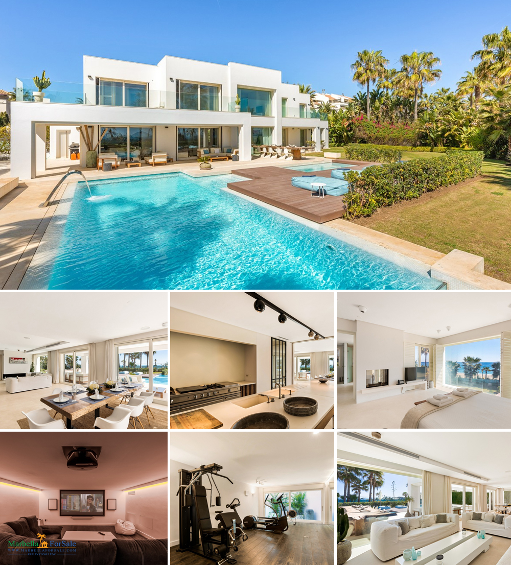 Stunning Beachfront Villa For Sale - Puerto Banús