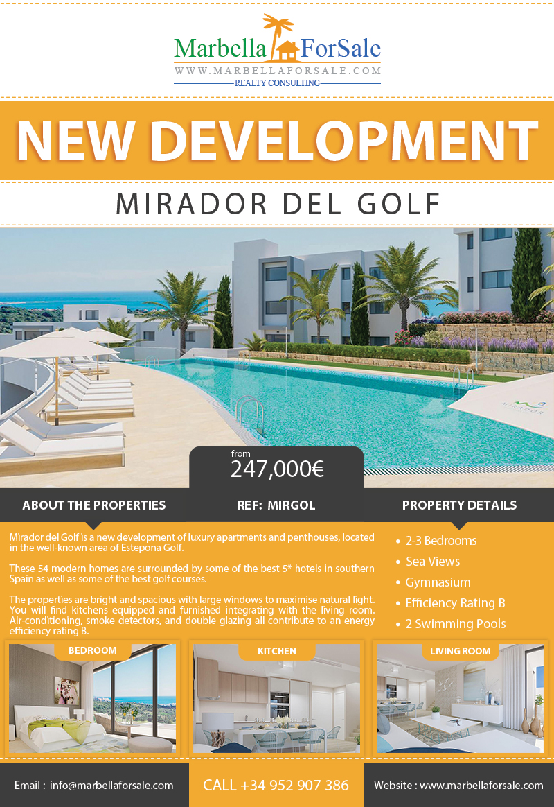 New Properties For Sale in Estepona