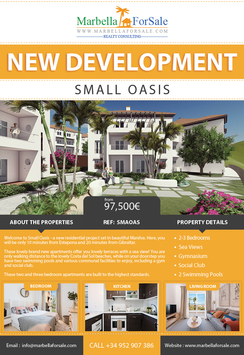 Small Oasis - New Homes in Manilva