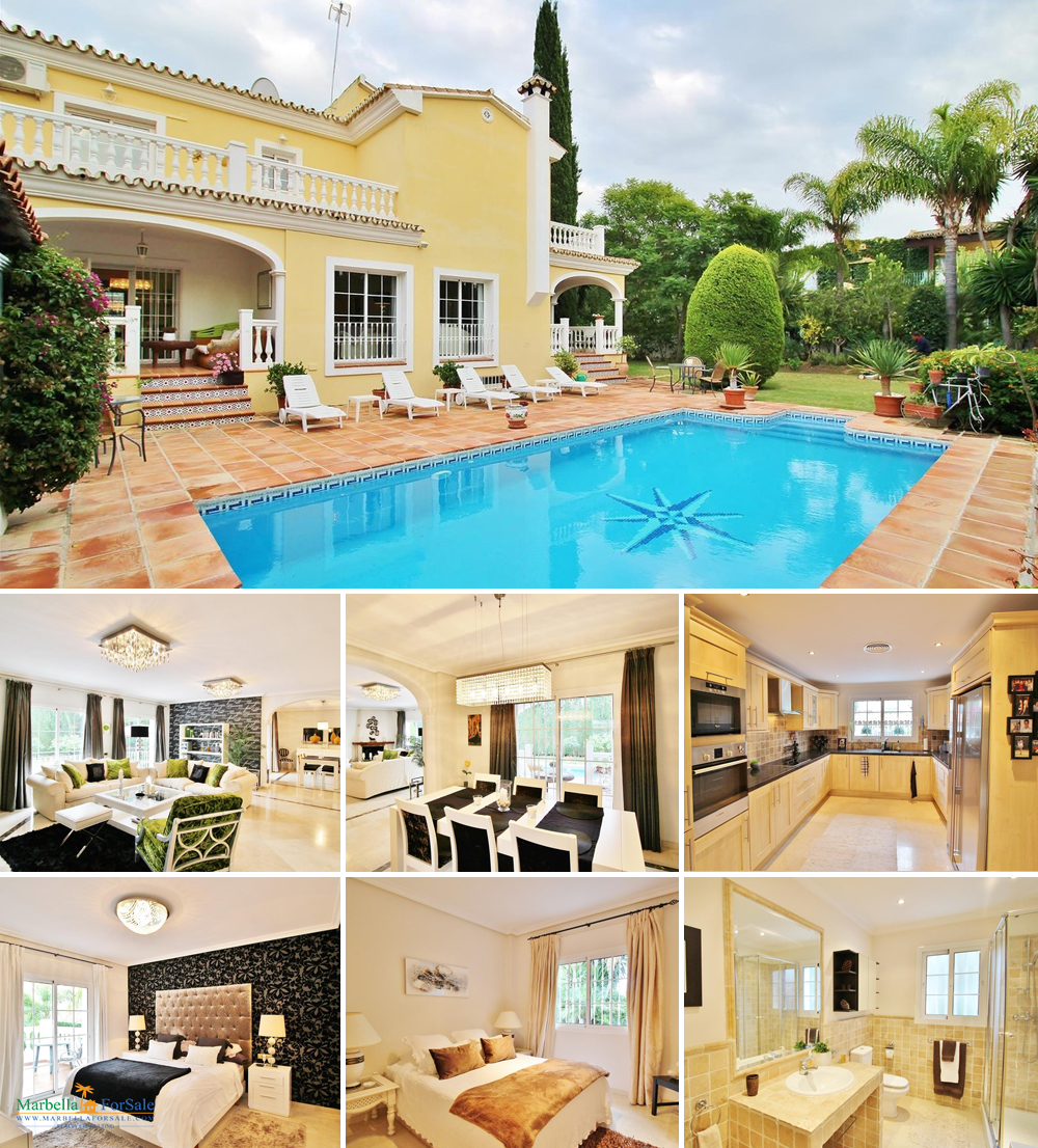 Stunning 6 Bed Villa For Sale - Nueva Andalucia