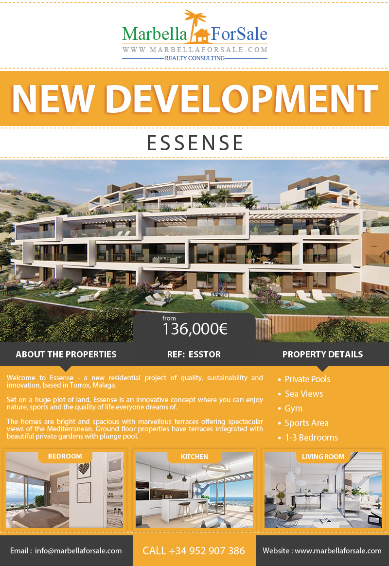 New Residential Project For Sale in Torrox, Malaga
