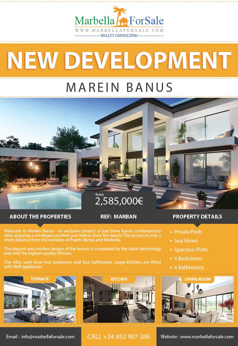New Luxury Villas For Sale - San Pedro
