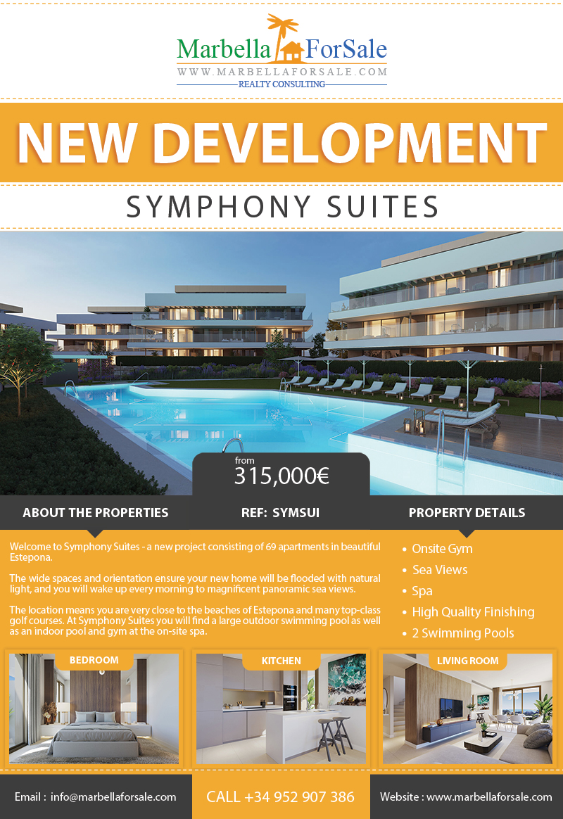 69 New Apartments For Sale in Estepona