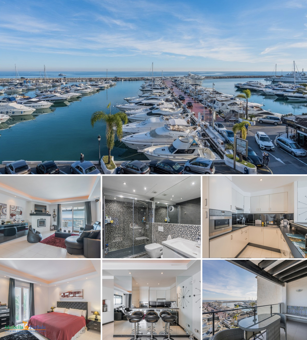 What a View! Frontline Penthouse For Sale Puerto Banus