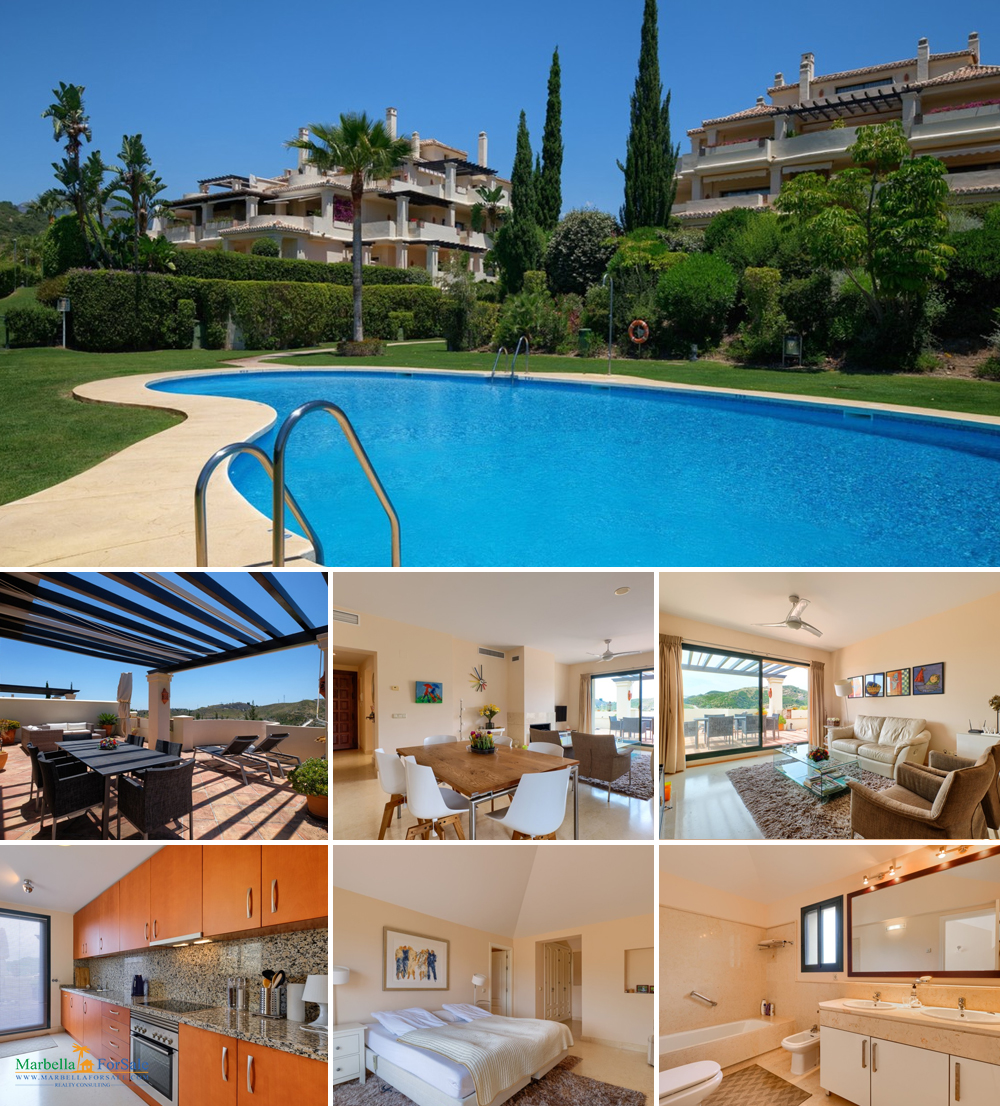 3 Bed Penthouse For Sale in Benahavis