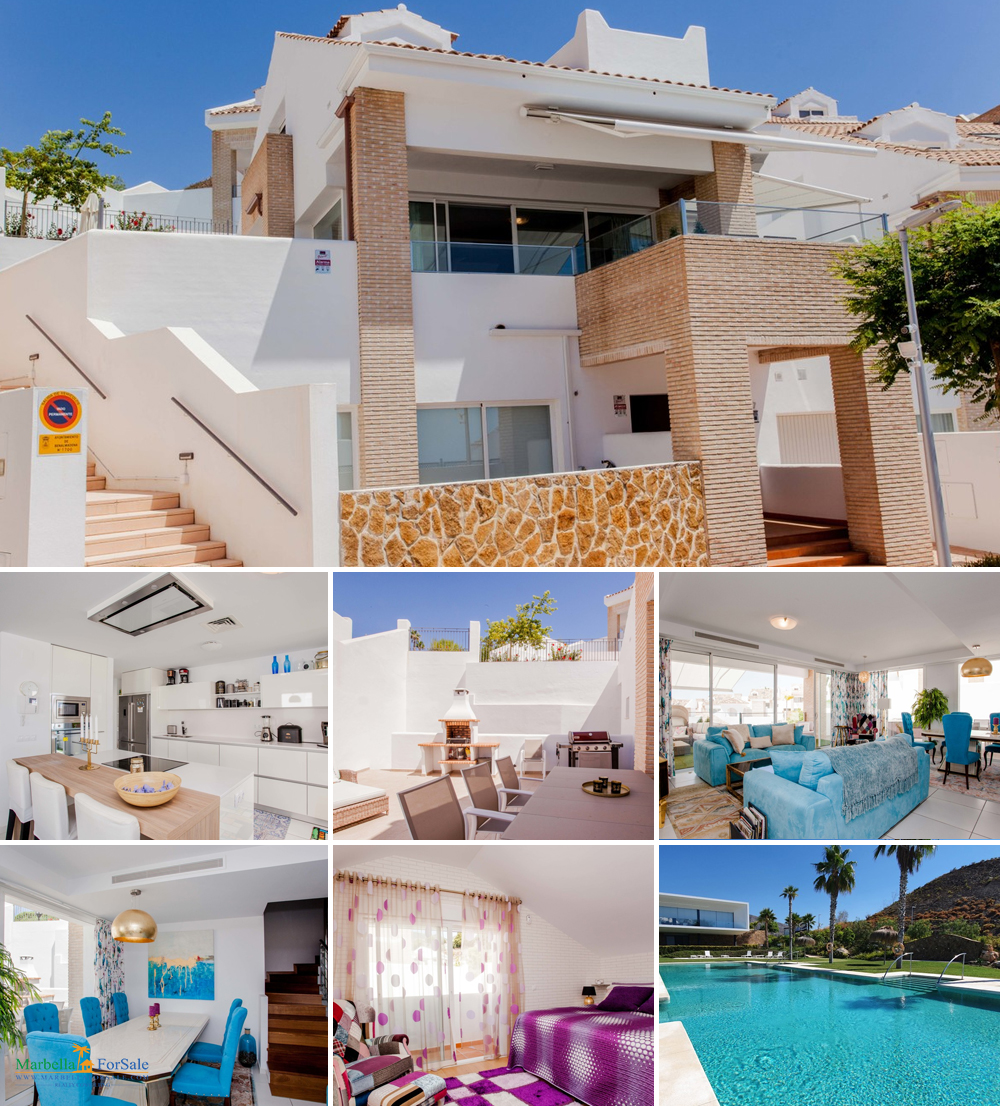 4 Bed Villa For Sale on Benalmadena Costa