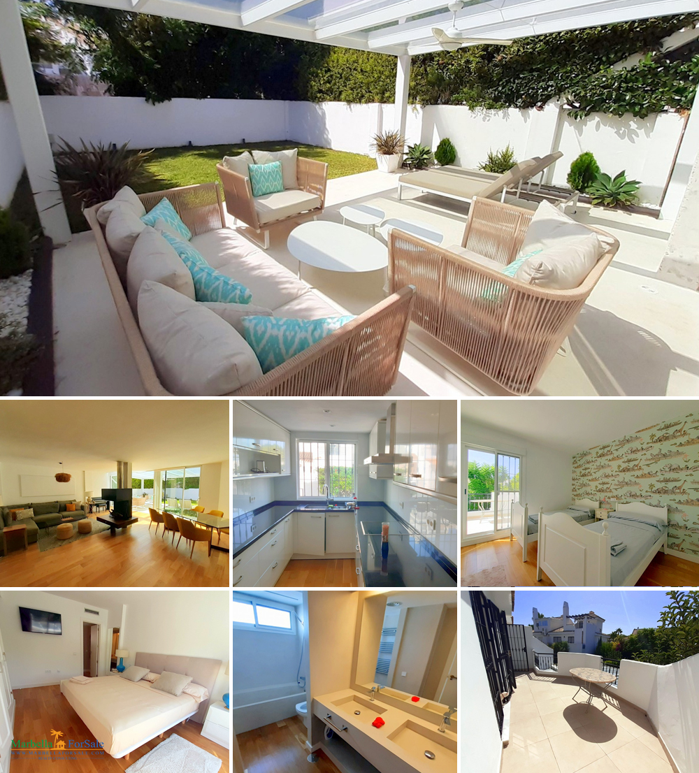 3 Bed Townhouse For Sale in Puerto Banús