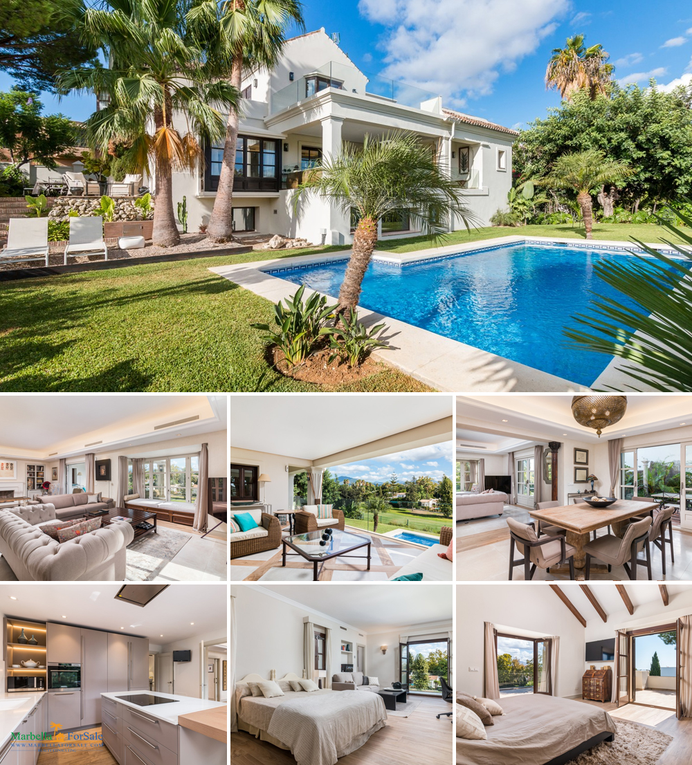 Luxury 4 Bed Villa For Sale - Guadalmina