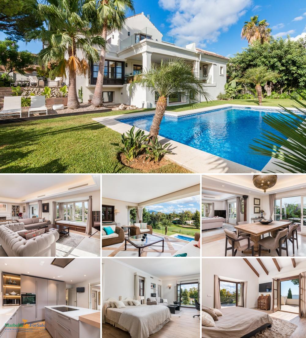 Luxury 4 Bed Villa For Sale - Guadalmina