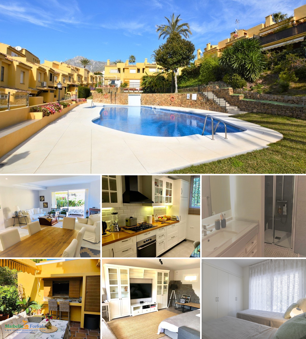 4 Bed Townhouse For Sale in Marbella