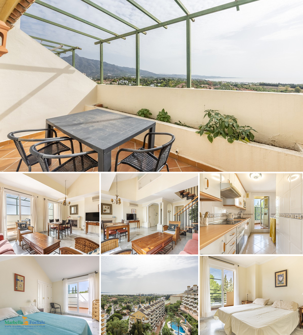 Lovely 2 Bed Penthouse For Sale - Nueva Andalucia