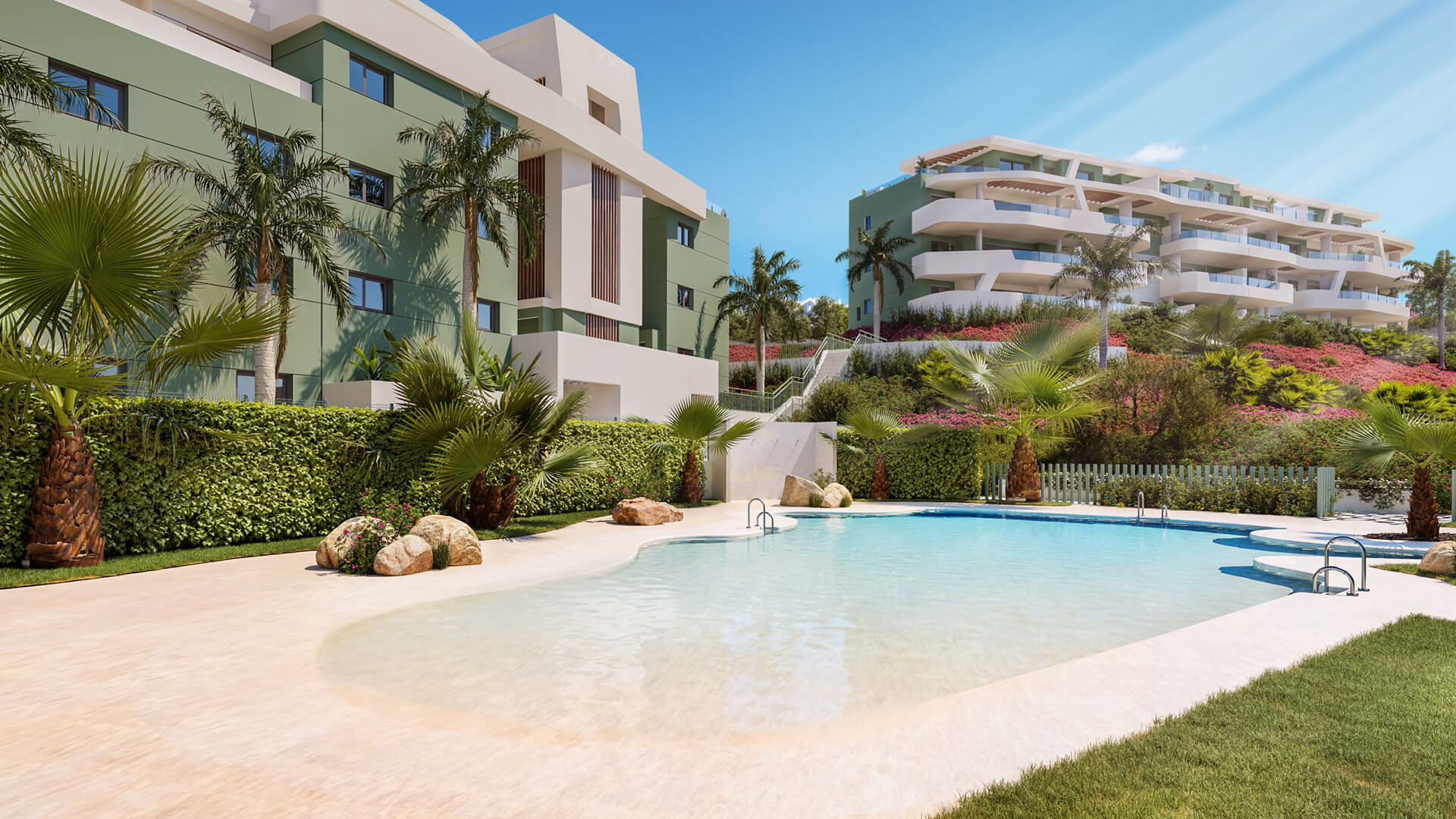 New Apartments For Sale in Calanova Golf