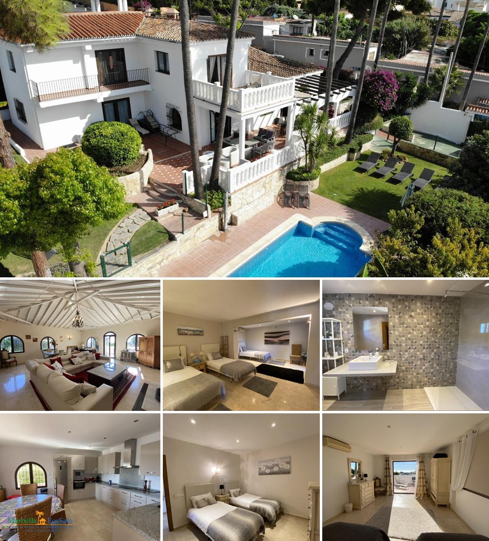 Luxury 5 Bed Villa For Sale - Marbella