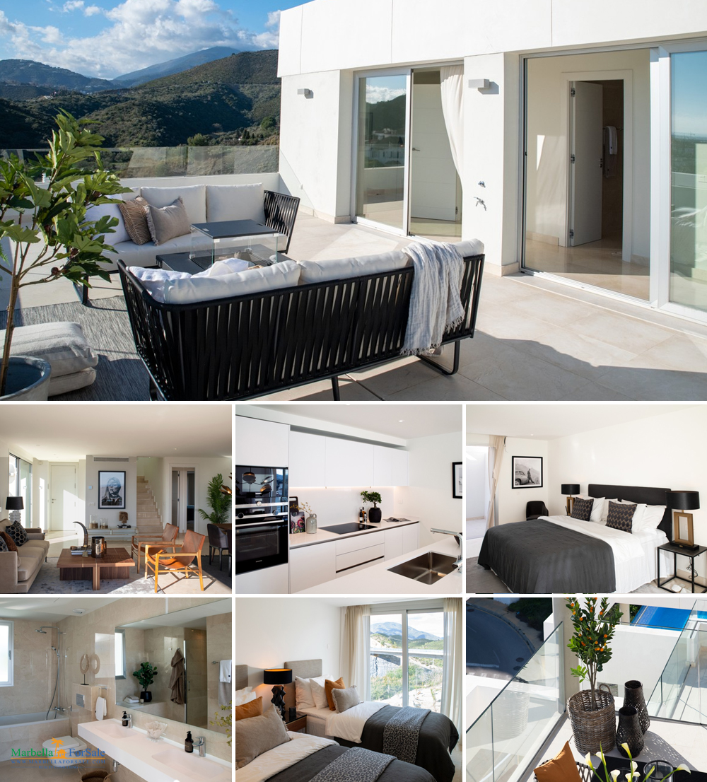 3 Bed Penthouse For Sale - Nueva Andalucia